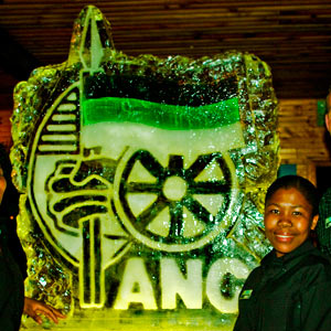Ice sculpture ANC