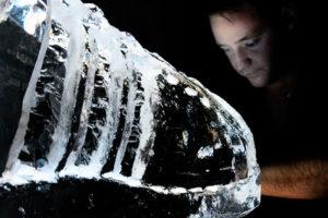 ice sculpture live