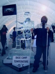 Ice Sculpture Hiker