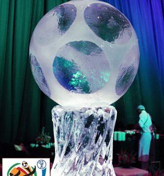ice sculpture FIFA